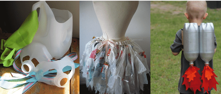 Polyform - Halloween costumes recycled plastic