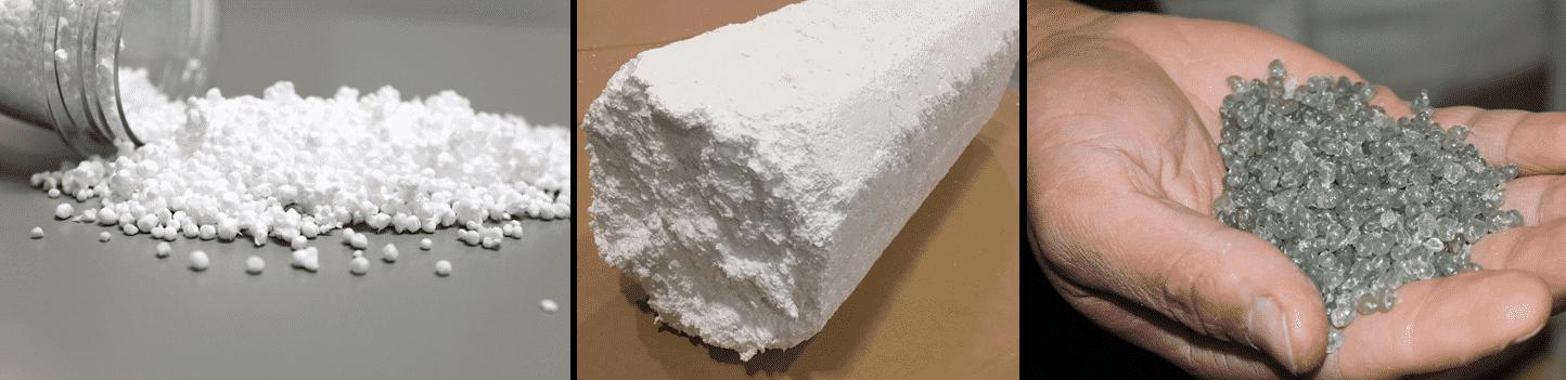 Recyclage polystyrène