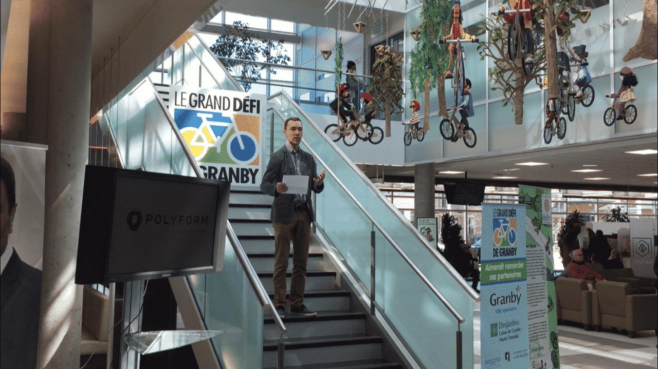 Grand défi vélo de Granby 2019