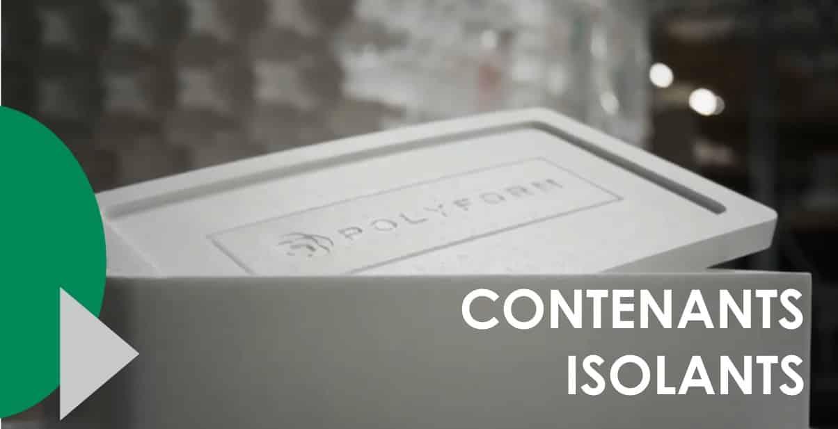 Vidéo contenants isolants - Polyform